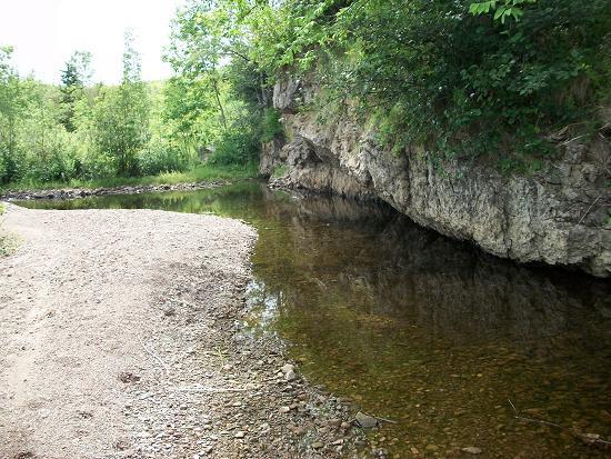 Irish Cove Brook Sand Wand Restoration
